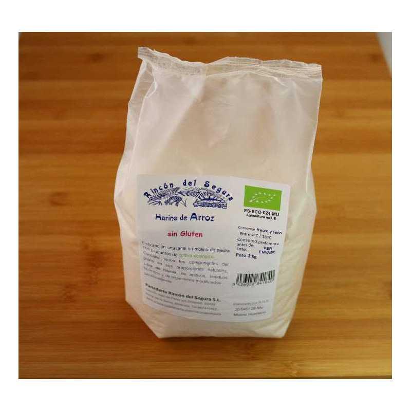 Kg de Harina de arroz SIN GLUTEN