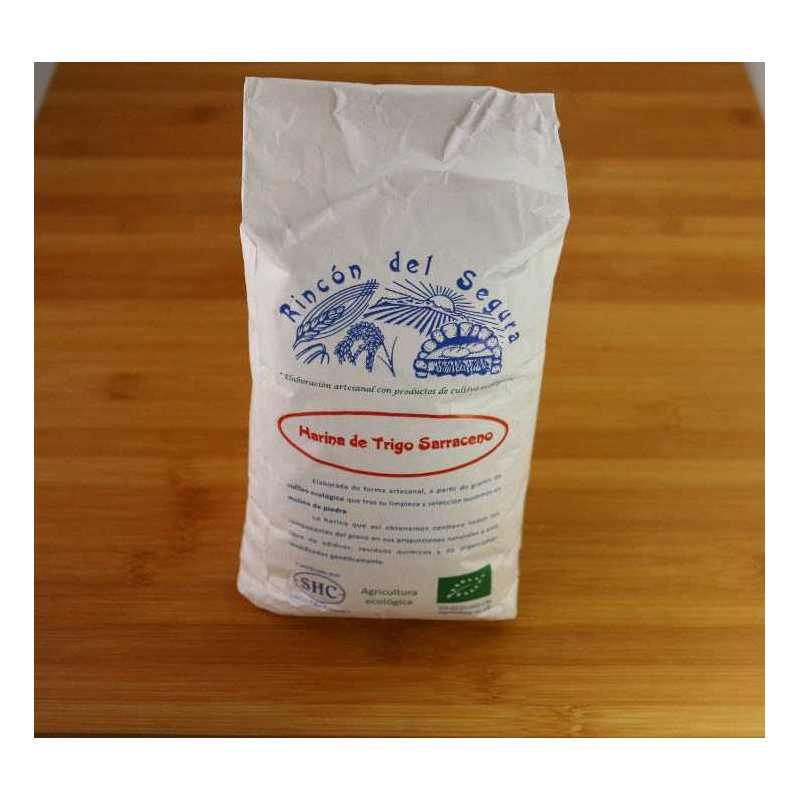 Kg de Harina de trigo sarraceno ecológico