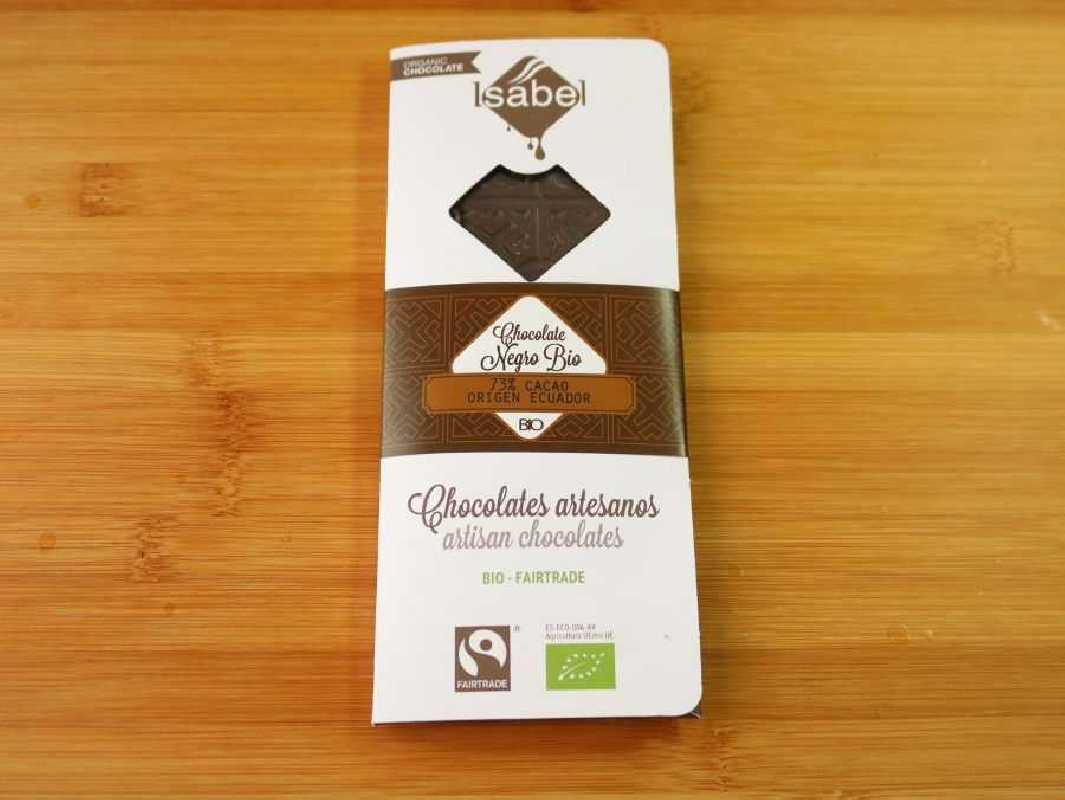 Chocolate 73% Cacao Ecológico