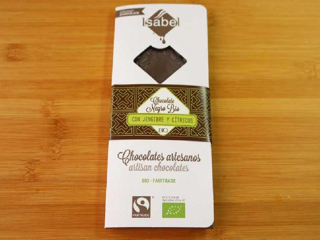 Chocolate Jengible y cítricos Ecológico