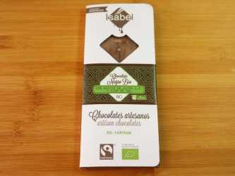 Chocolate flor de Sal con aceite de Oliva ecológico