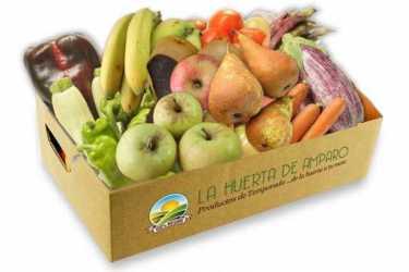Caja Fruta y Verdura Eco (10Kg aprox) (ENVÍO GRATIS)