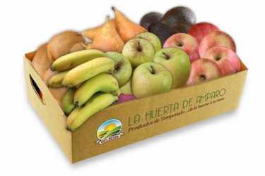Caja de fruta ecológica 5 kg