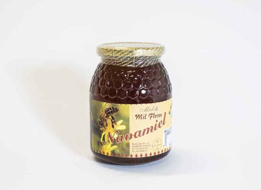 Miel de Milflores Pura de Abeja